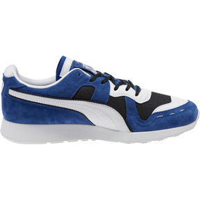 Thumbnail 3 of RS-100 Nubuck Sneakers, Black-Sodalite Blue-White, medium