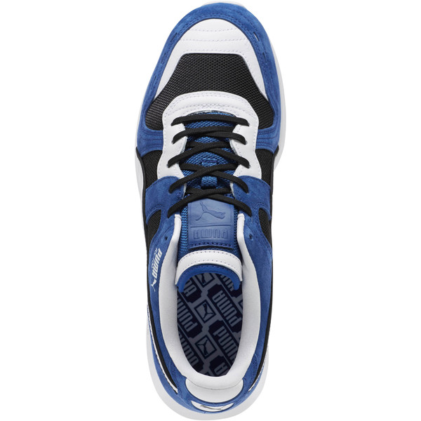 RS-100 Nubuck Sneakers, Black-Sodalite Blue-White, large