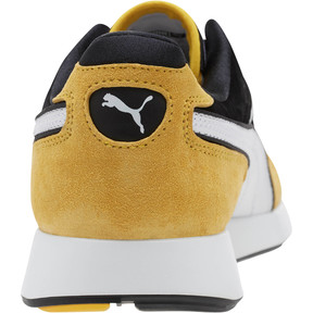 Thumbnail 4 of RS-100 Nubuck Sneakers, White-Yellow-Puma Black, medium