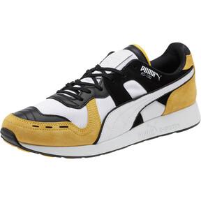 Thumbnail 1 of RS-100 Nubuck Sneakers, White-Yellow-Puma Black, medium