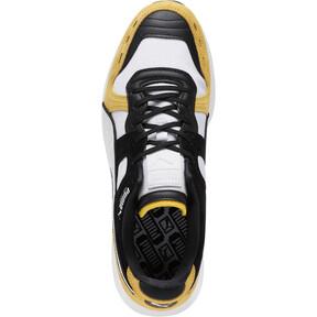 Thumbnail 5 of RS-100 Nubuck Sneakers, White-Yellow-Puma Black, medium