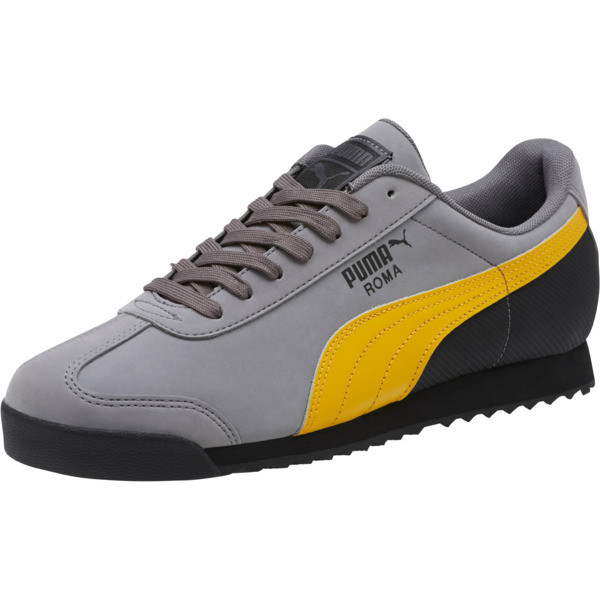 Roma Retro Nubuck Sneakers, 02, large