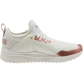 Thumbnail 3 of Pacer Nex tCage Metallic Speckle Women's Sneakers, Whisper White-Rose Gold, medium
