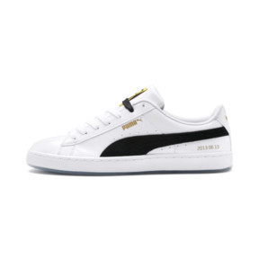 Thumbnail 1 of PUMA x BTS バスケット パテント, Puma White-Puma Black, medium-JPN