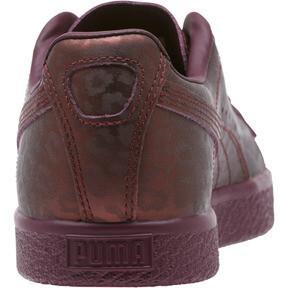 Thumbnail 4 of Clyde Sheer Animal Women's Sneakers, Fig-Puma Black, medium