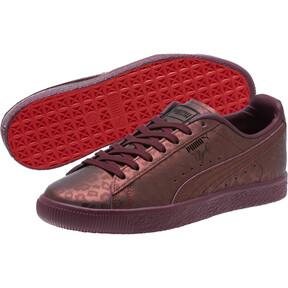 Thumbnail 2 of Clyde Sheer Animal Women's Sneakers, Fig-Puma Black, medium
