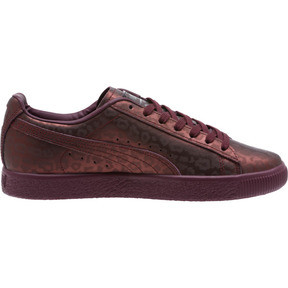 Thumbnail 3 of Clyde Sheer Animal Women's Sneakers, Fig-Puma Black, medium