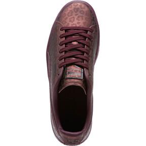 Thumbnail 5 of Clyde Sheer Animal Women's Sneakers, Fig-Puma Black, medium