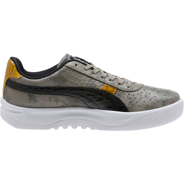 GV Special+ Gator Gray Men's Sneakers, Elephant Skin-Puma Black, large