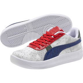 Thumbnail 2 of GV Special+ Gator White Men's Sneakers, Pma Wht-Sdlite Ble-Rbbn Rd, medium