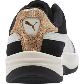 Thumbnail 4 of California Metallic Women's Sneakers, Black-White-Metallic Bronze, medium