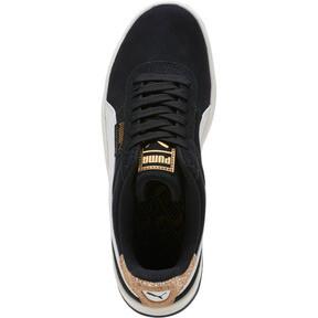Thumbnail 5 of California Metallic Women's Sneakers, Black-White-Metallic Bronze, medium