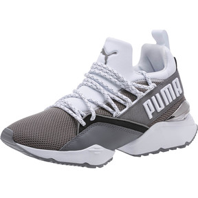 Thumbnail 1 of Muse Maia Smet Women's Sneakers, Steel Gray-Puma White, medium