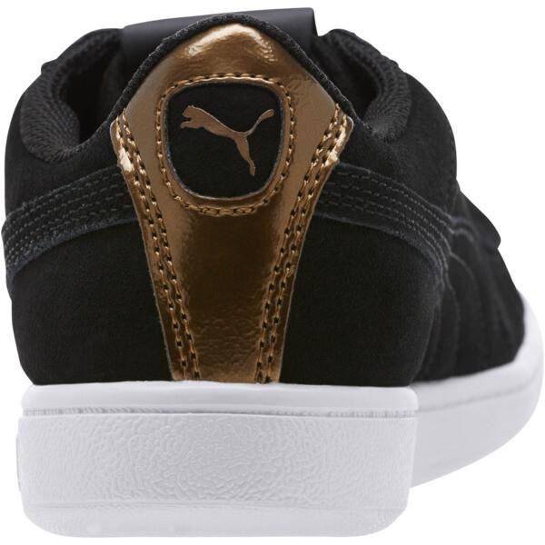 Puma Vikky AOS Metallic Sneakers, Puma Black-Metallic Bronze, large