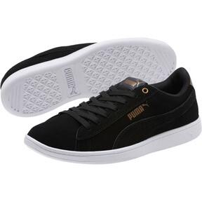 Thumbnail 2 of Puma Vikky AOS Metallic Sneakers, Puma Black-Metallic Bronze, medium