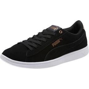 Thumbnail 1 of Puma Vikky AOS Metallic Sneakers, Puma Black-Metallic Bronze, medium