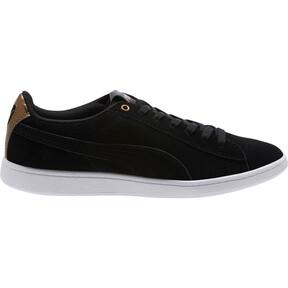 Thumbnail 3 of Puma Vikky AOS Metallic Sneakers, Puma Black-Metallic Bronze, medium