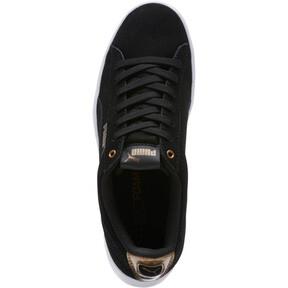 Thumbnail 5 of Puma Vikky AOS Metallic Sneakers, Puma Black-Metallic Bronze, medium