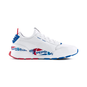 Thumbnail 5 of PUMA x PEPSI MAX RS-0 Trainers, Puma Wht-Puma Royal-Puma Wht, medium