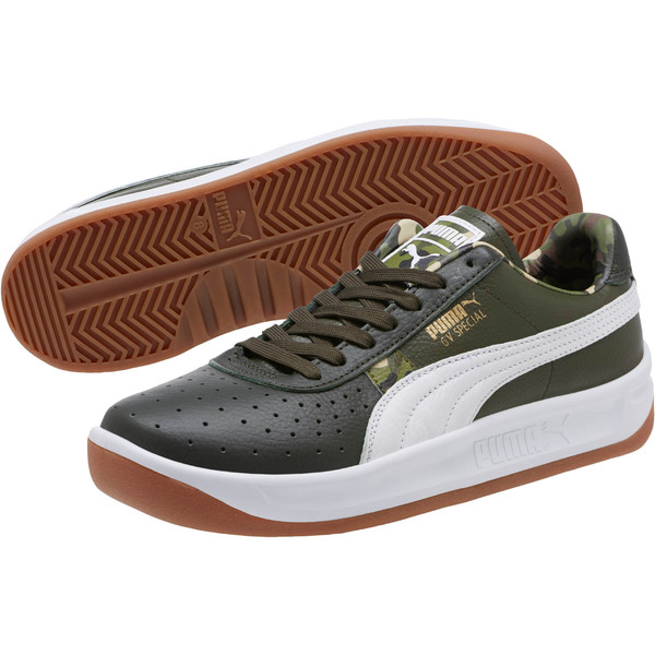 GV Special Wild Camo Sneakers, Night-Puma White- Gold, large