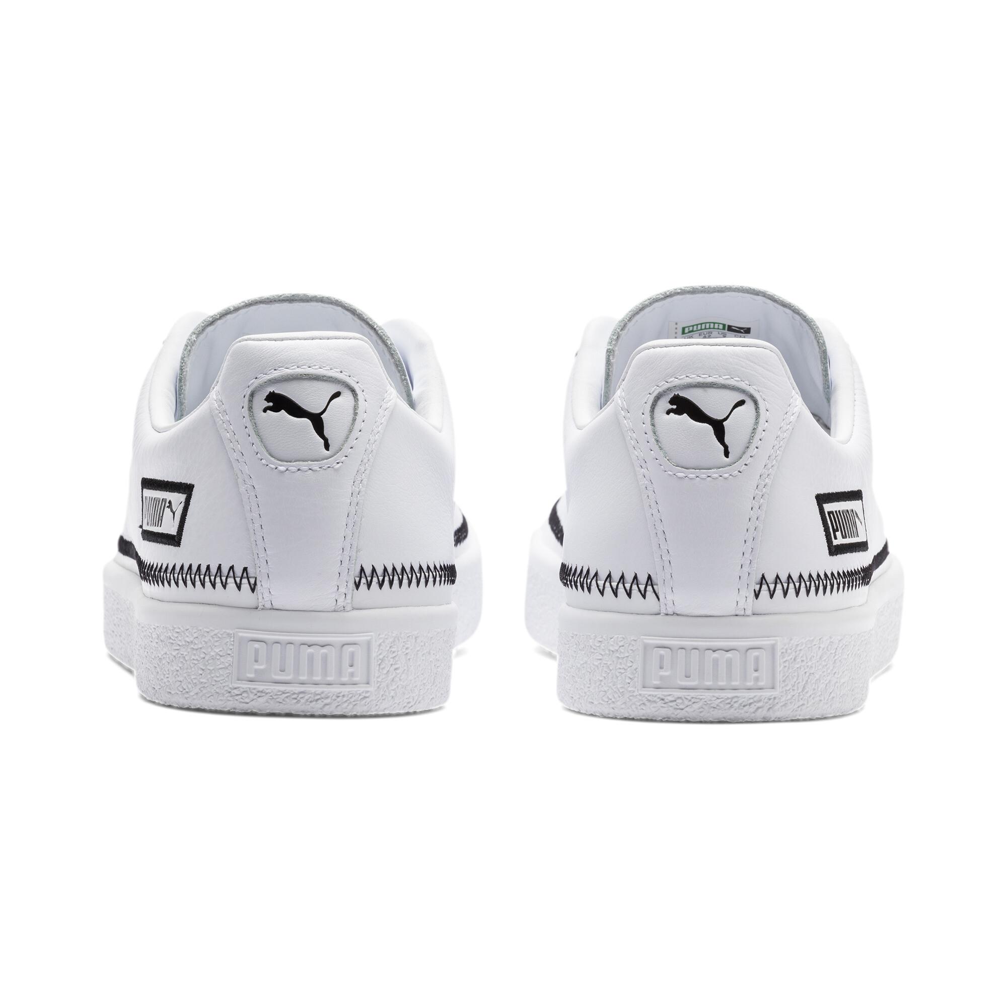 PUMA-Basket-Stitch-Sneaker-Unisex-Schuhe-Neu Indexbild 15