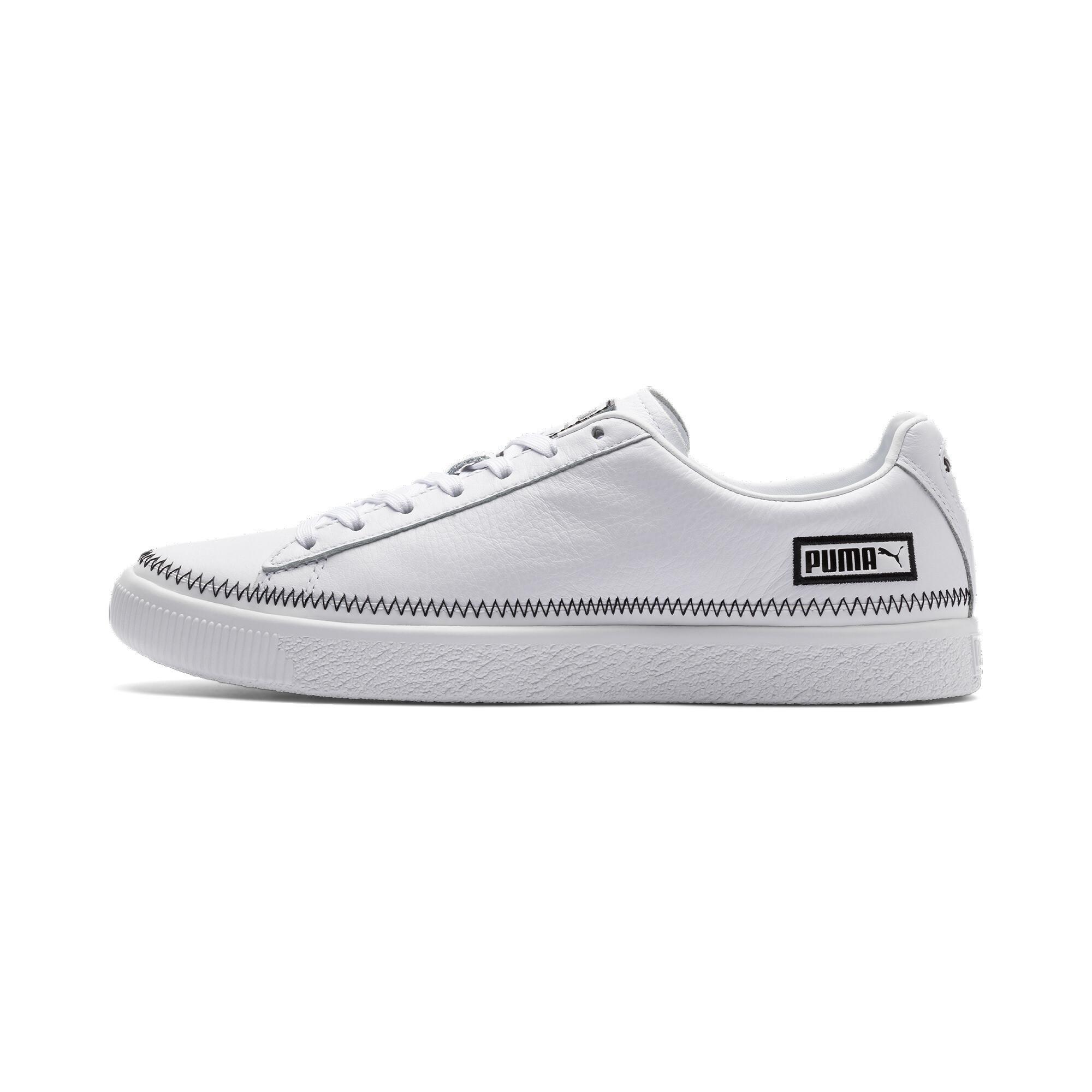 PUMA-Basket-Stitch-Sneaker-Unisex-Schuhe-Neu Indexbild 16