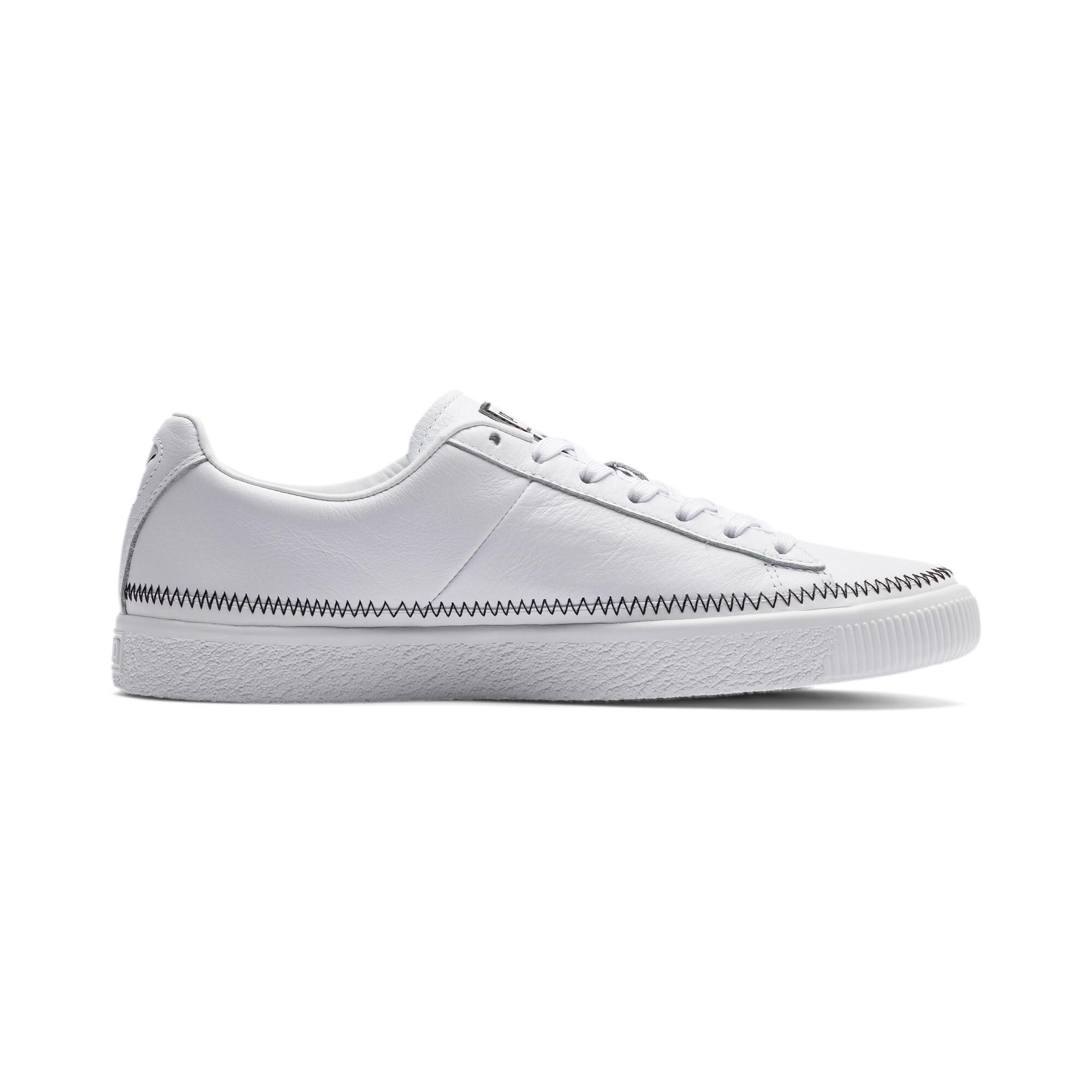 PUMA-Basket-Stitch-Sneaker-Unisex-Schuhe-Neu Indexbild 18