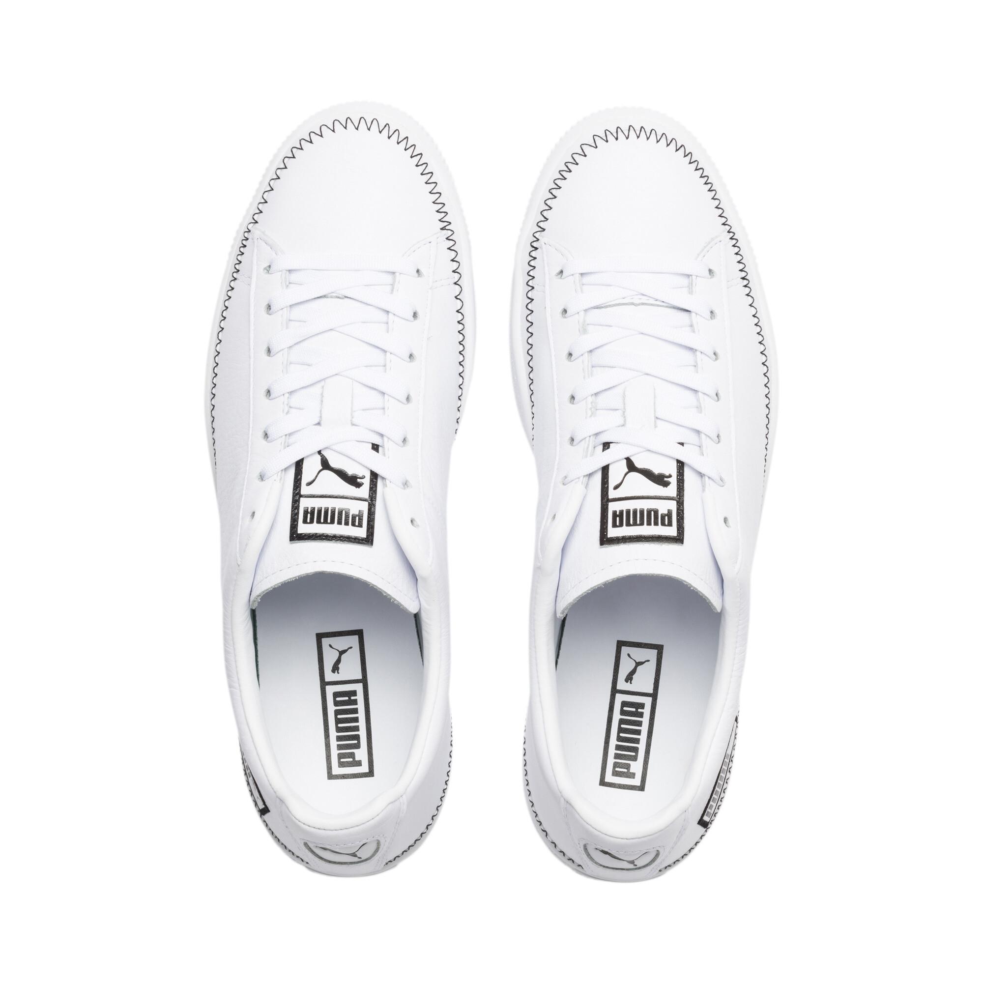 PUMA-Basket-Stitch-Sneaker-Unisex-Schuhe-Neu Indexbild 19