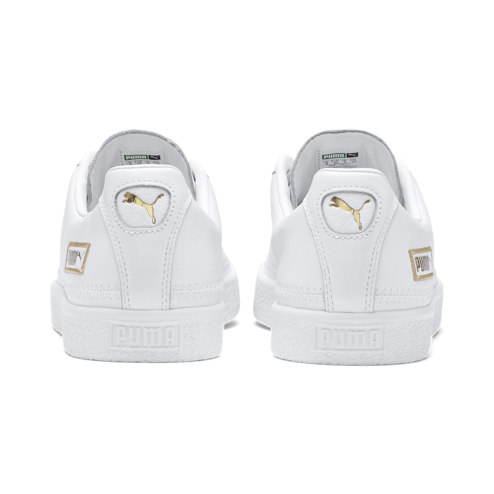 PUMA-Basket-Stitch-Sneaker-Unisex-Schuhe-Neu Indexbild 3