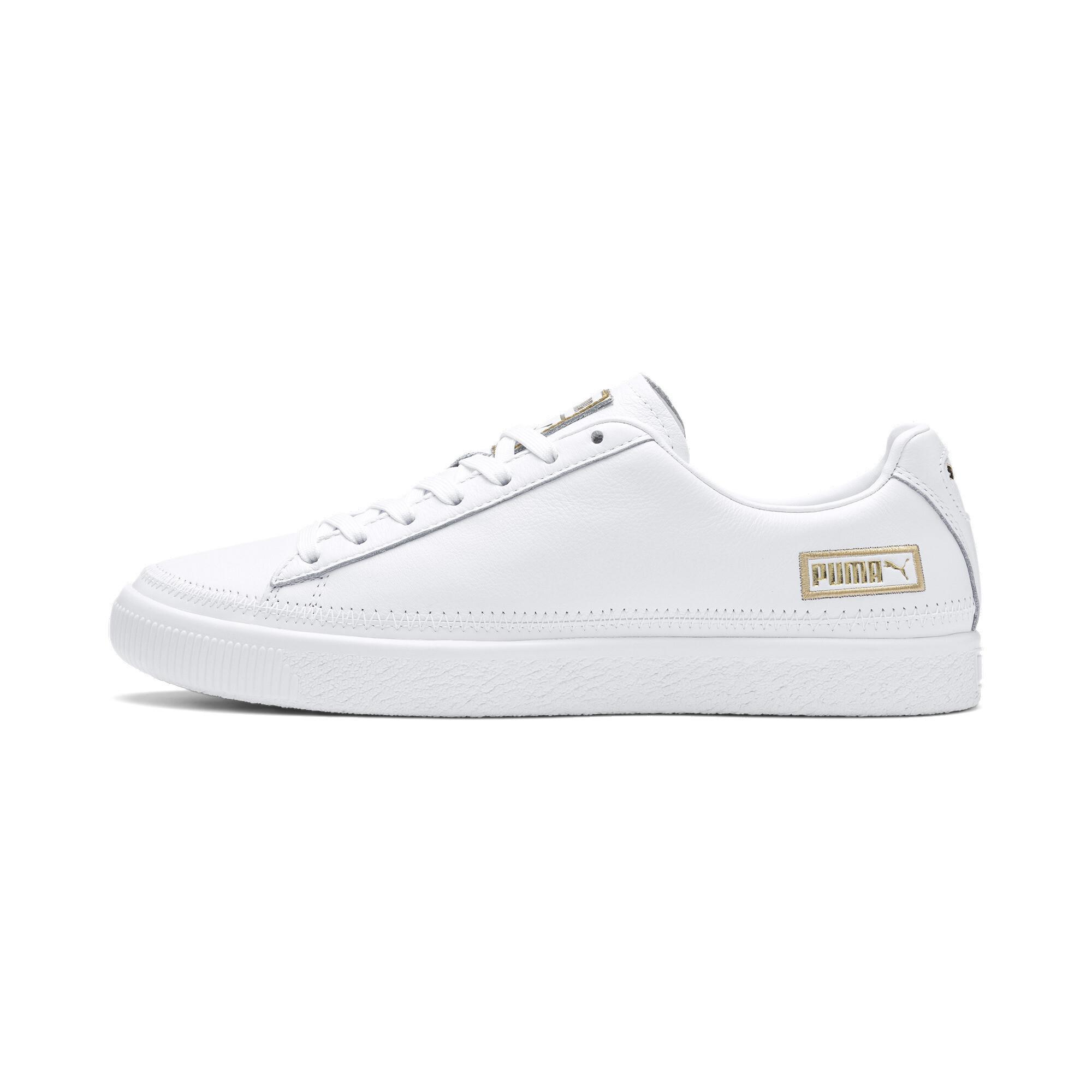 PUMA-Basket-Stitch-Sneaker-Unisex-Schuhe-Neu Indexbild 4