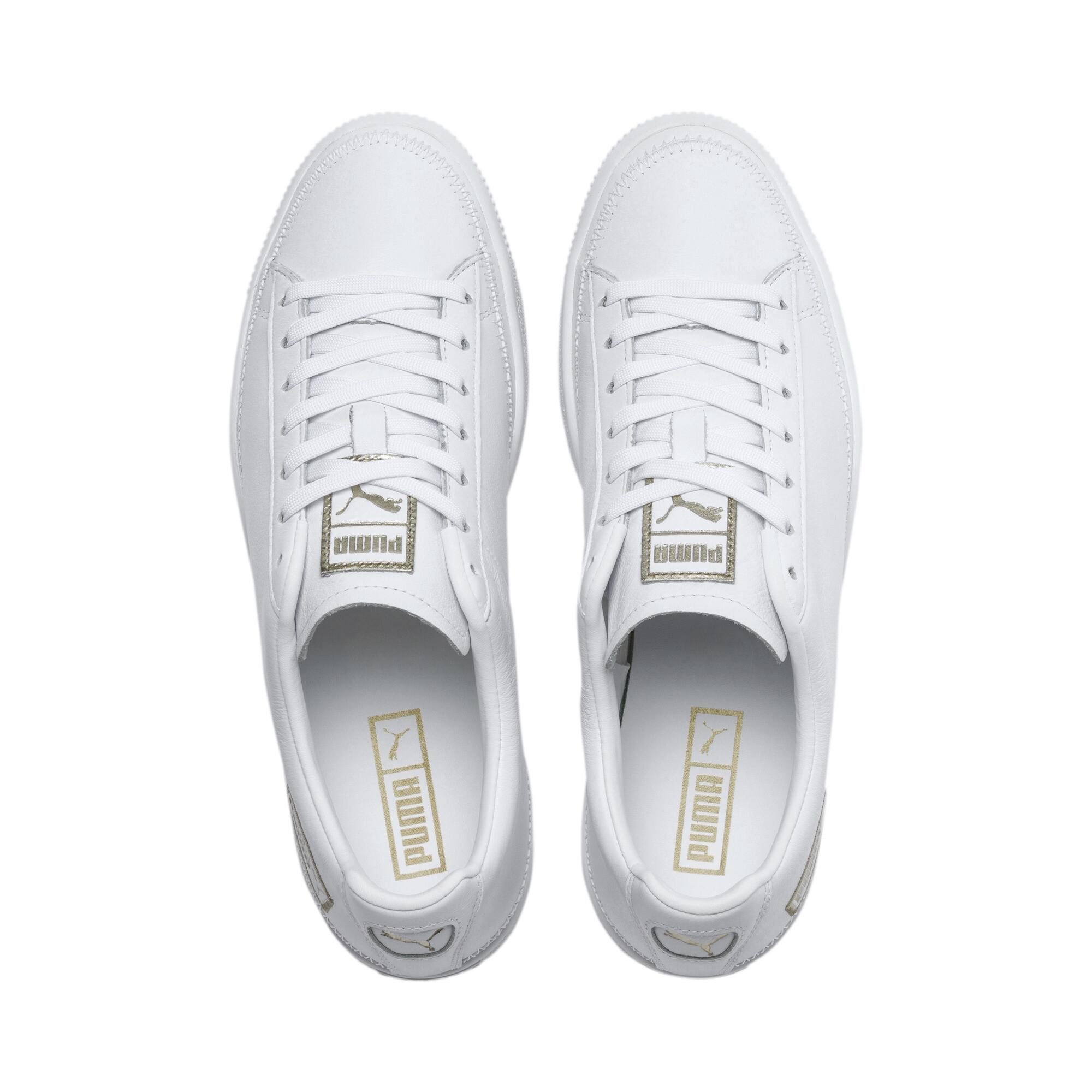 PUMA-Basket-Stitch-Sneaker-Unisex-Schuhe-Neu Indexbild 7