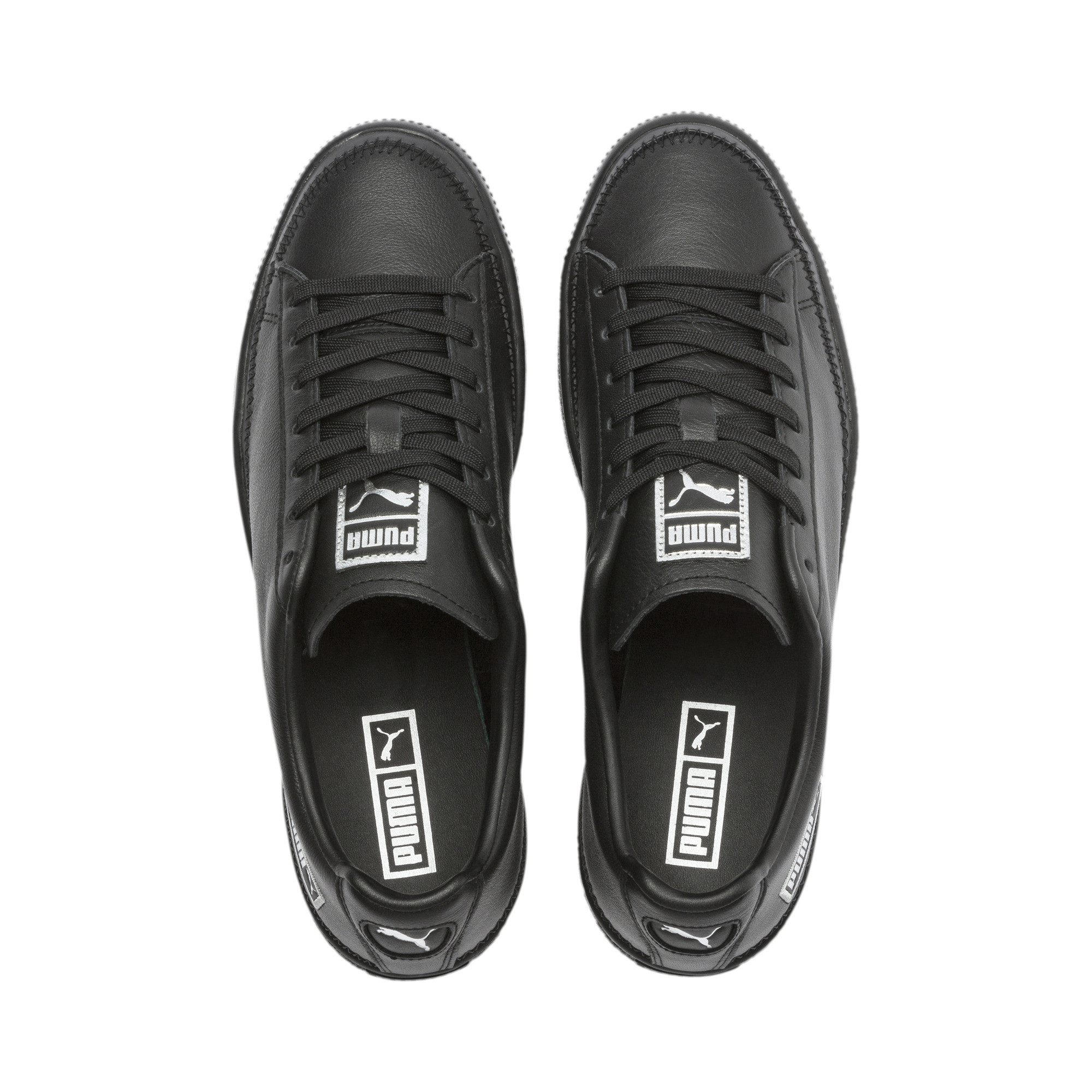 PUMA-Basket-Stitch-Sneaker-Unisex-Schuhe-Neu Indexbild 13