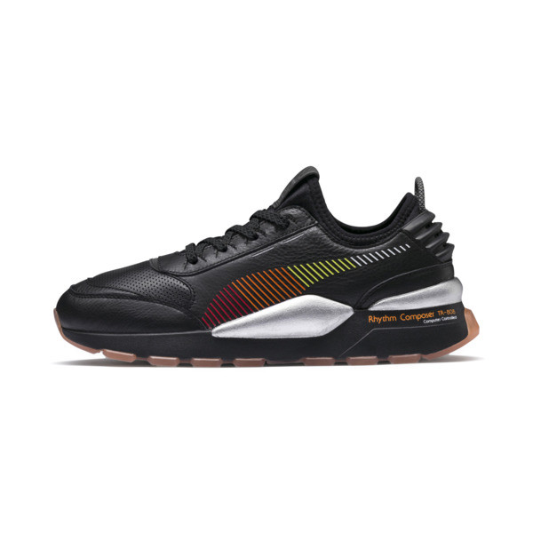 PUMA x Roland RS-0 Trainers, Puma Black, large