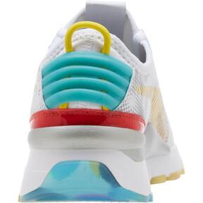 Thumbnail 4 of RS-0 Optic Filter Men's Sneakers, Puma Wht-AQS-Vbrnt Ylw-HRR, medium