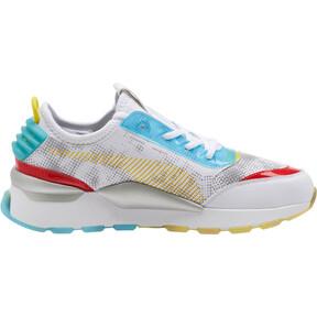 Thumbnail 3 of RS-0 Optic Filter Men's Sneakers, Puma Wht-AQS-Vbrnt Ylw-HRR, medium