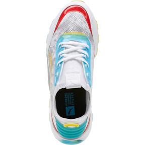 Thumbnail 5 of RS-0 Optic Filter Men's Sneakers, Puma Wht-AQS-Vbrnt Ylw-HRR, medium