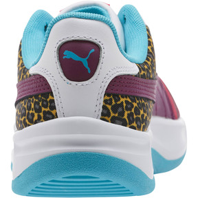 Thumbnail 4 of California Animal Women's Sneakers, Beetroot Purple-Phlox- White, medium