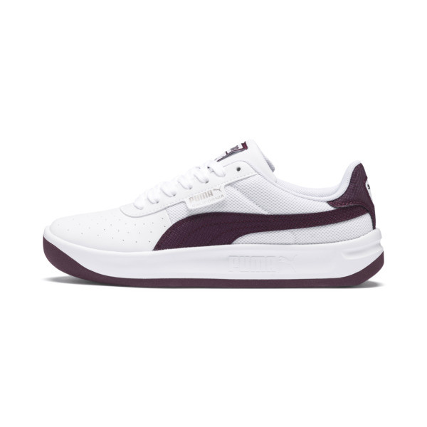 California Scratch Women's Sneakers, Puma White-Fig- Ash, large