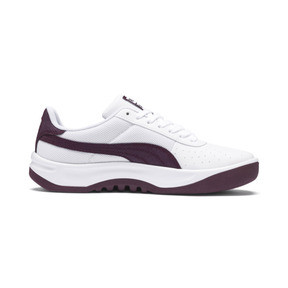 Thumbnail 5 of California Scratch Women's Sneakers, Puma White-Fig- Ash, medium