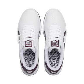 Thumbnail 6 of California Scratch Women's Sneakers, Puma White-Fig- Ash, medium