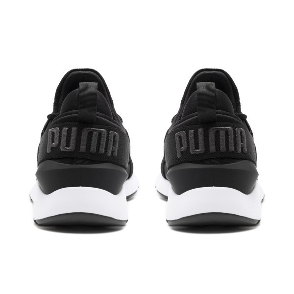 プーマ ミューズ サテン 2 ウィメンズ, Puma Black-Asphalt, large-JPN