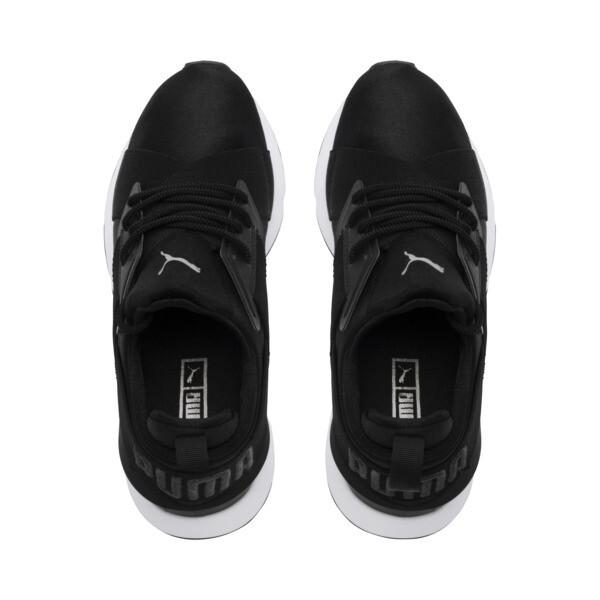 Zapatillas de mujer Muse Satin II, Puma Black-Asphalt, grande