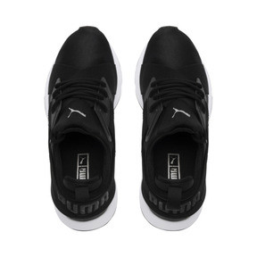 Thumbnail 6 of Muse 2 Satin Women's Sneakers, Puma Black-Asphalt, medium