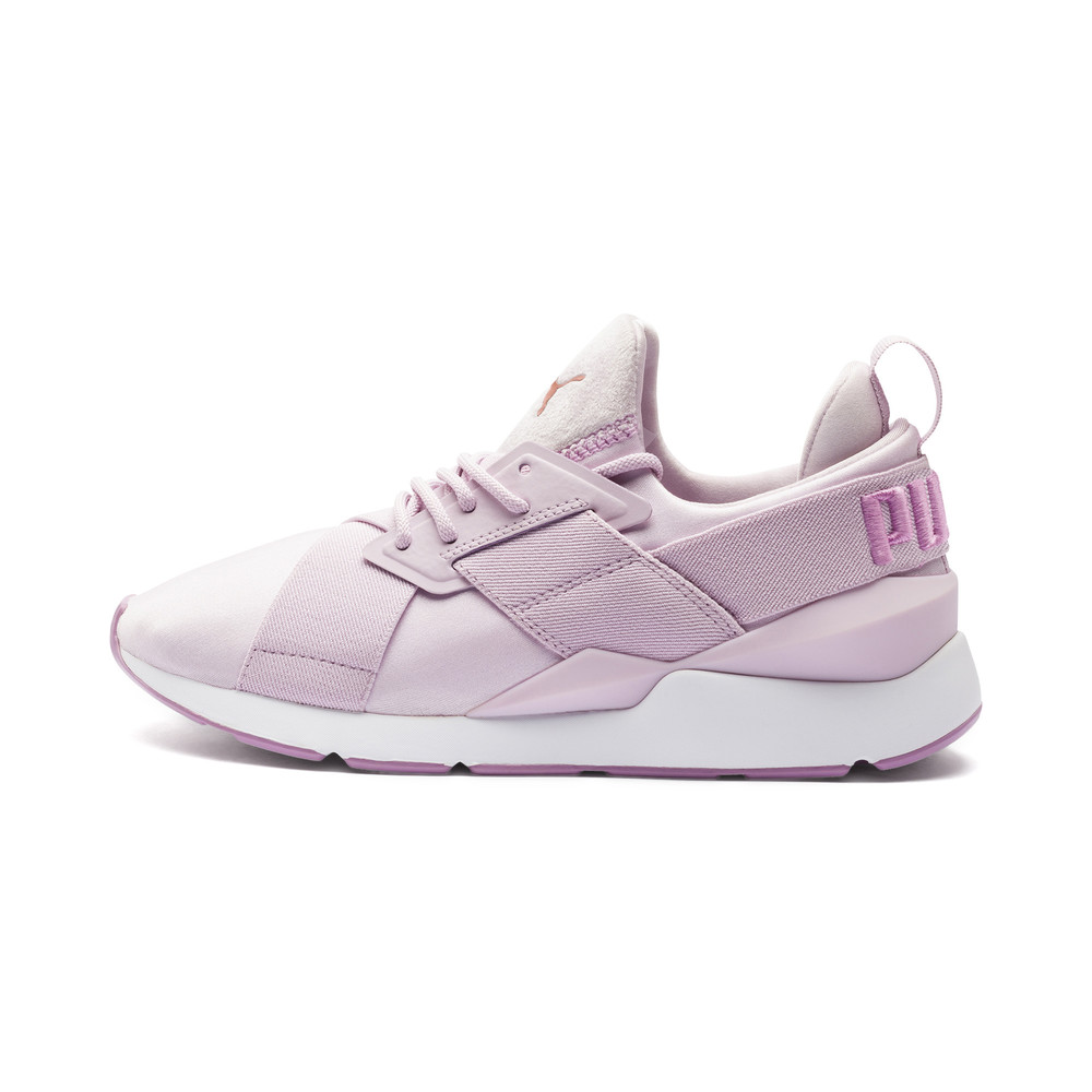 Image PUMA Muse Satin II Women's Trainers #1