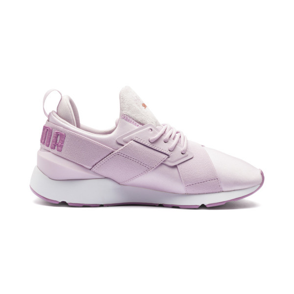 Muse Satin II Damen Sneaker, Winsome Orchid-Smoky Grape, large