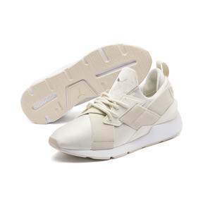 Thumbnail 2 of Muse Satin II Women's Trainers, Whisper White-Brazilian Sand, medium