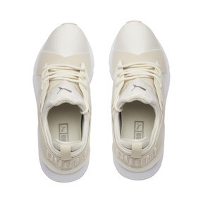 Thumbnail 6 of Muse Satin II Women's Trainers, Whisper White-Brazilian Sand, medium