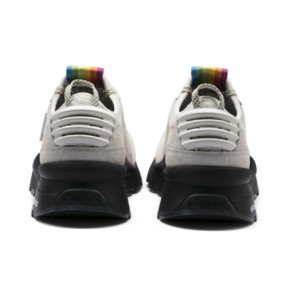 Thumbnail 4 of PUMA x POLAROID RS-0 Sneakers, Marshmallow-Puma Black, medium