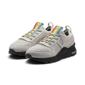 Thumbnail 2 of PUMA x POLAROID RS-0 Sneakers, Marshmallow-Puma Black, medium