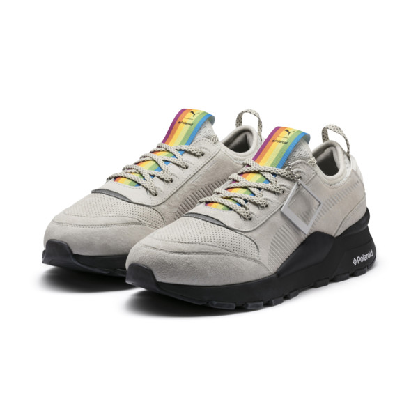PUMA x POLAROID RS-0 Sneakers, Marshmallow-Puma Black, large